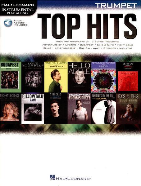 Hal Leonard Top Hits Trumpet