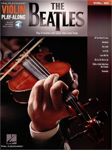 Hal Leonard Violin Play-Along: Beatles