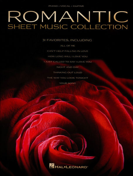 Hal Leonard Romantic Sheet Music Coll.