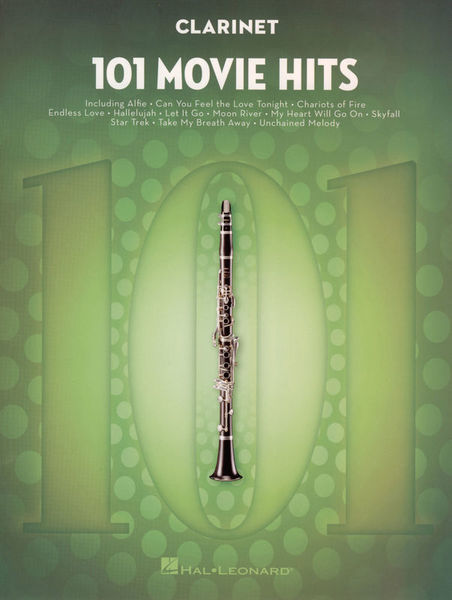 Hal Leonard 101 Movie Hits for Clarinet