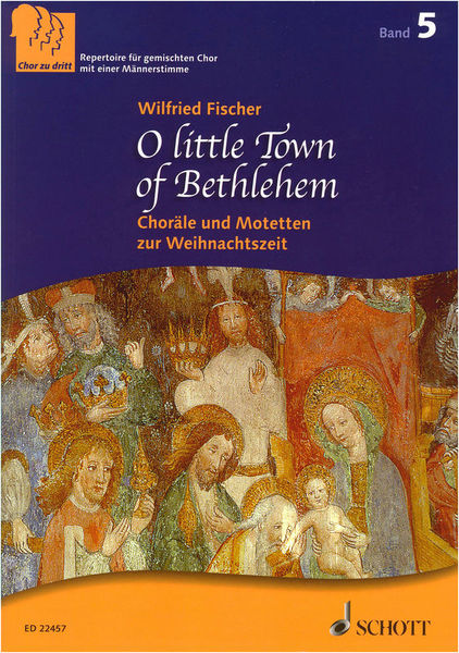 Schott O Little Town Of Bethlehem SAB