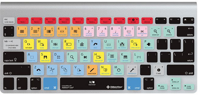Editors Keys Keyboard Skin Ableton