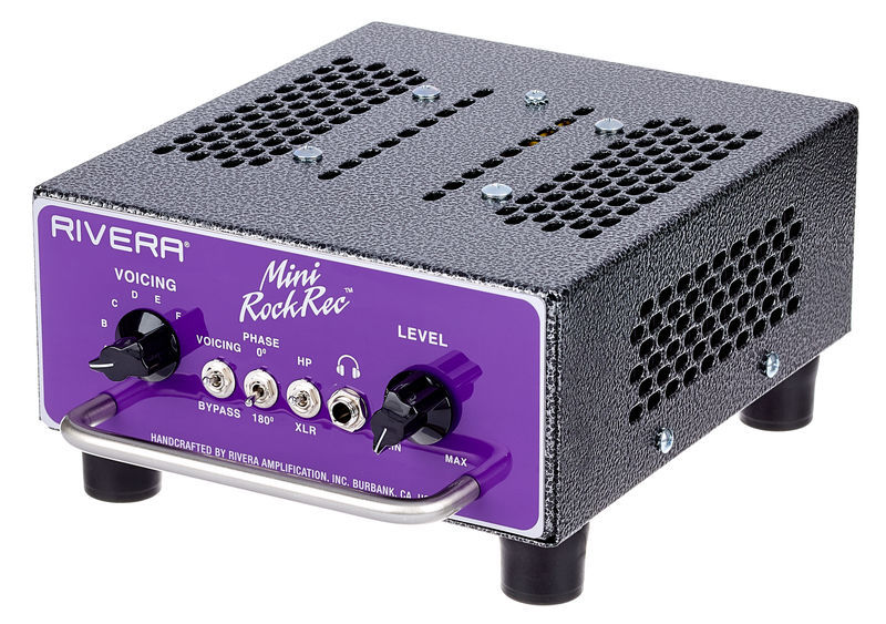 Rivera Mini RockCrusher Recording