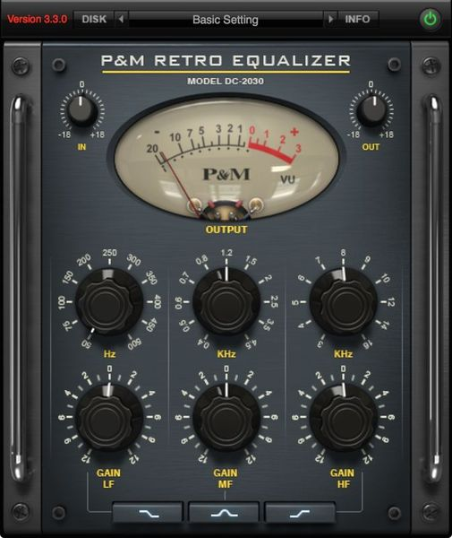 Plug And Mix Retro Equalizer