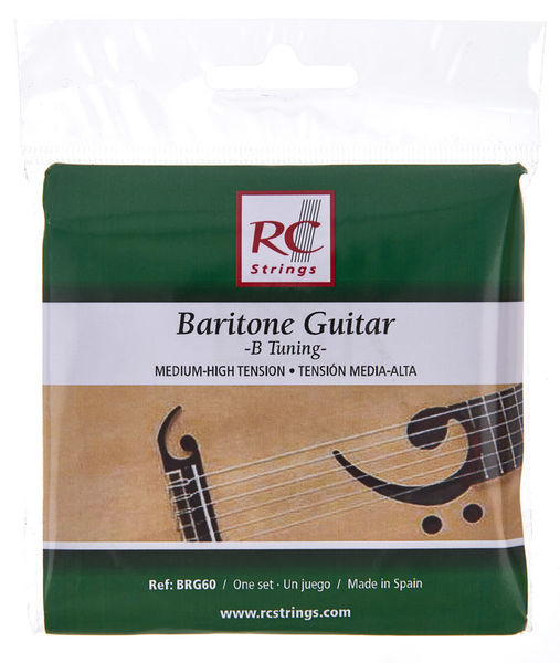 RC Strings BRG60 Baritone Guitar Strings