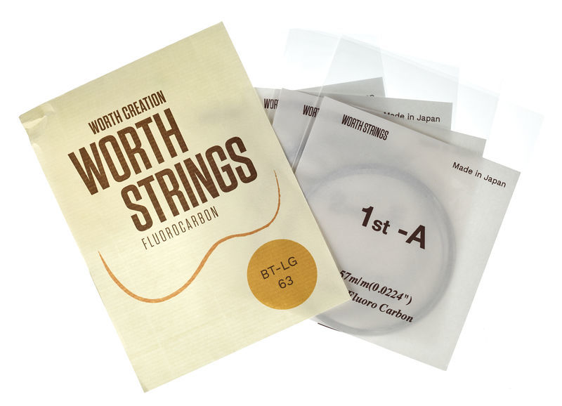 Worth Strings BT-LG Tenor Ukulele Set