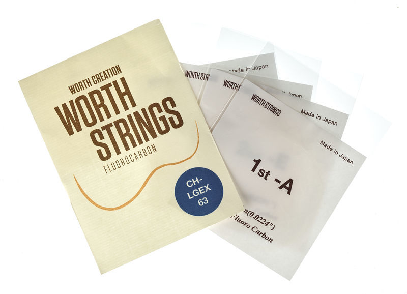 Worth Strings CH-LGEX Tenor Ukulele Set
