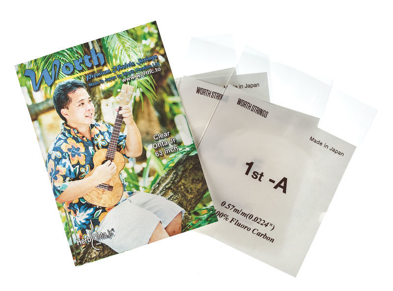 Worth Strings COJ Herb Ohta Jr Ukulele Set