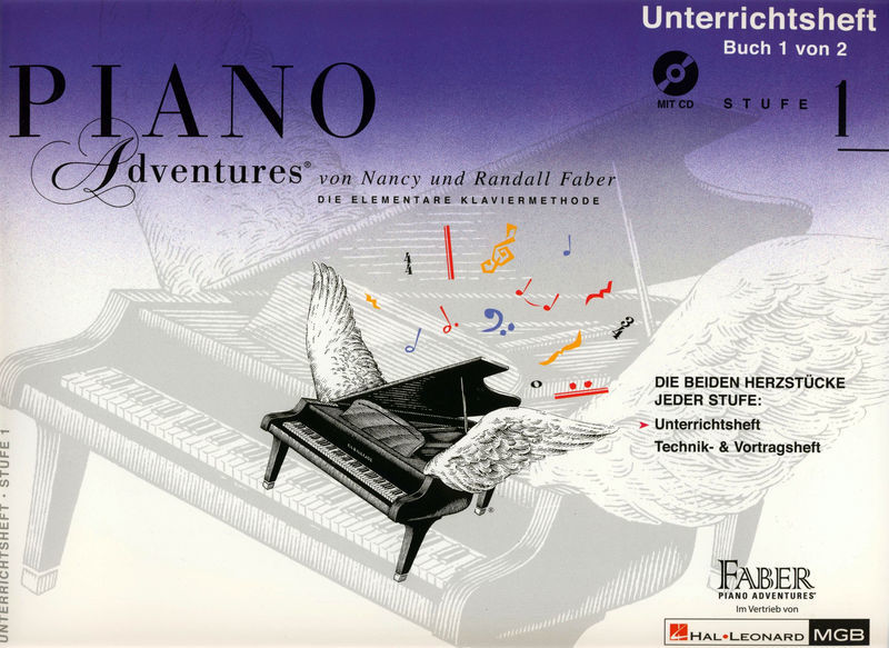 Hal Leonard Piano Adventures D Vol.1 1/2