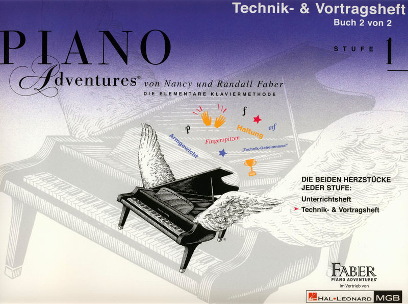 Hal Leonard Piano Adventures D Vol.1 2/2