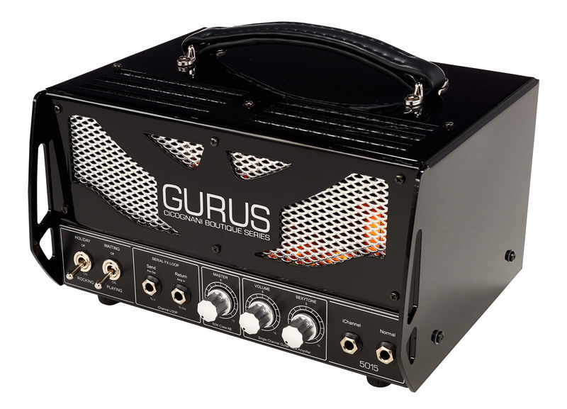Gurus 5015 Guitar Head Black