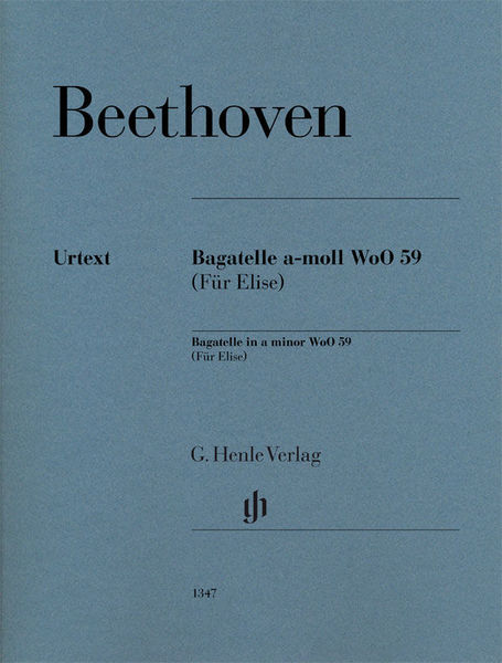 Henle Verlag Beethoven for Elise