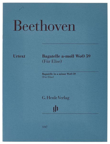 Henle Verlag Beethoven for Elise