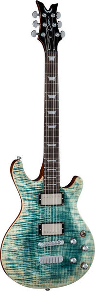Dean Guitars Icon Flame Top Faded Denim