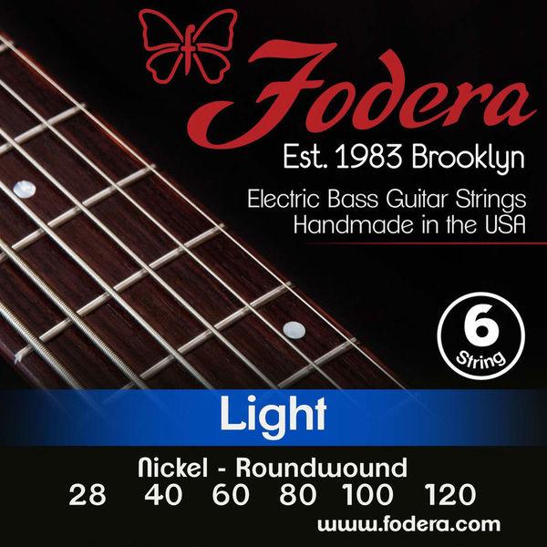 Fodera 6-String Set Light Nickel