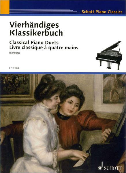 Schott Classical Piano Duets