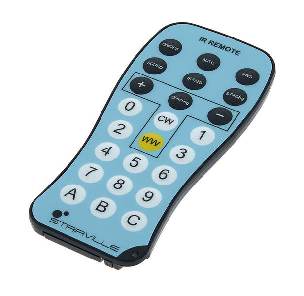 Stairville DCL Flat Par IR Remote