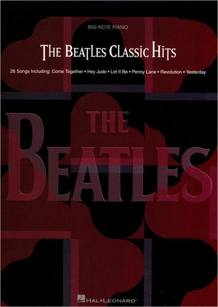 Hal Leonard The Beatles Classic Hits Big