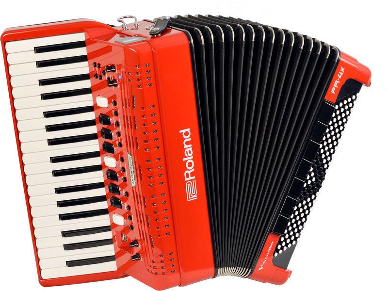 Roland FR-4 X Red