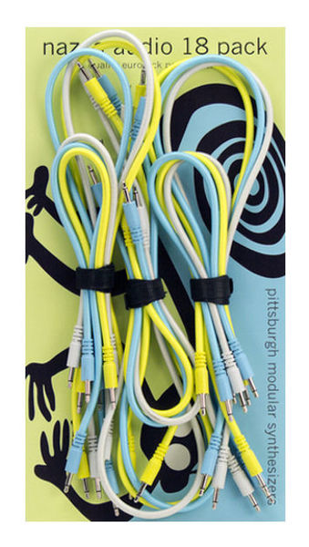 Pittsburgh Modular Nazca Patch Cords (18-Pack)