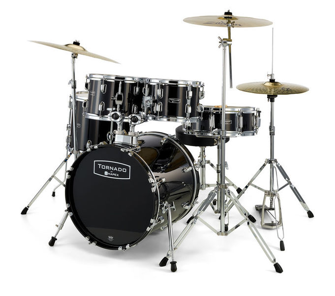 Mapex Tornado Junior Zildjian Set BK