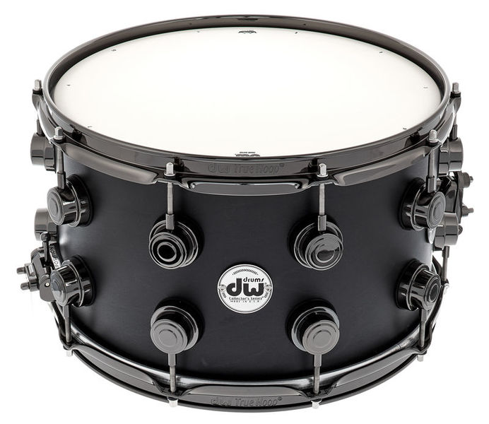"DW Satin Oil 14""x08"" Ebony BN"