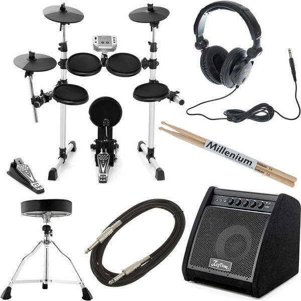 Millenium MPS-150 E-Drum Complete Bundle