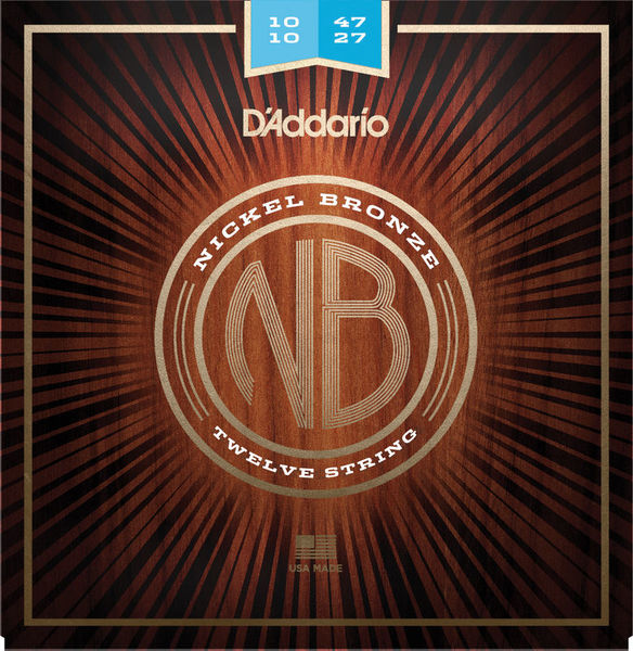 Daddario NB1047-12 Nickel Bronze Set