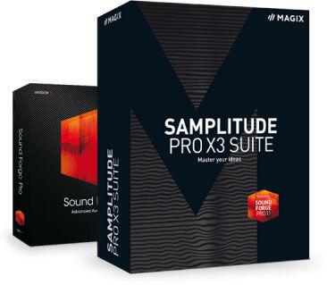 Magix Samplitude Pro X3 Suite D Upg.