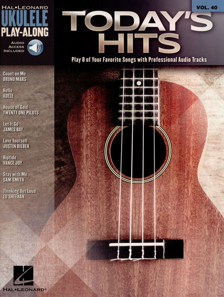 Hal Leonard Ukulele Play-Along: Today Hits