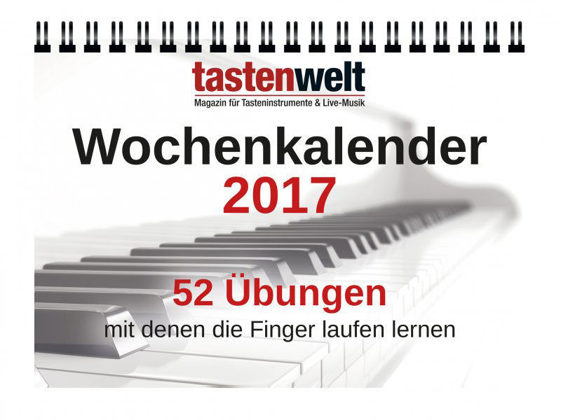 PPV Medien Tastenwelt Wochenkal. 2017