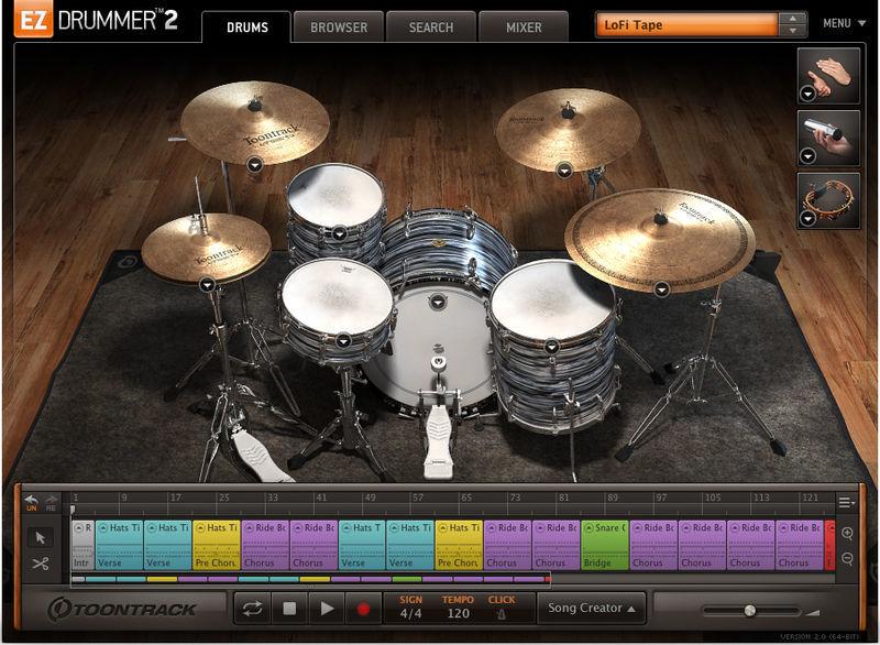 EZ Drummer 2 Toontrack