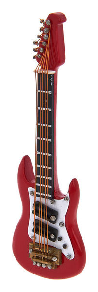 A-Gift-Republic Magnet E-Guitar Red