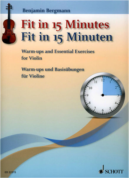Schott Fit In 15 Minutes Violin