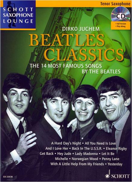 Beatles Classics T-Sax Schott