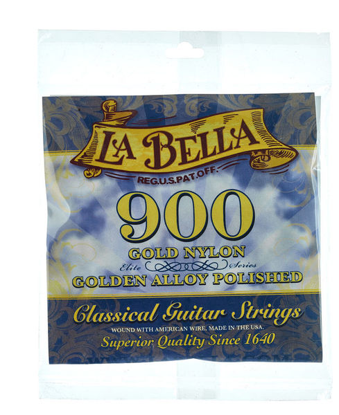 La Bella 900 Elite Gold Nylon