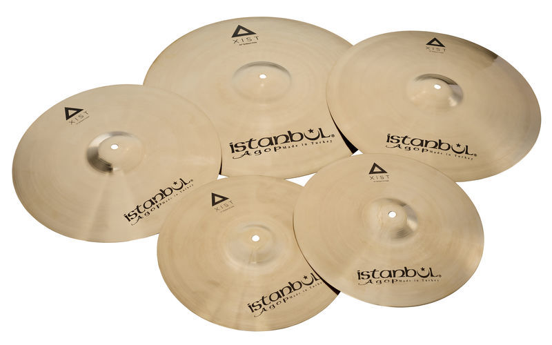 Xist Brilliant Cymbal Set Pro Istanbul Agop
