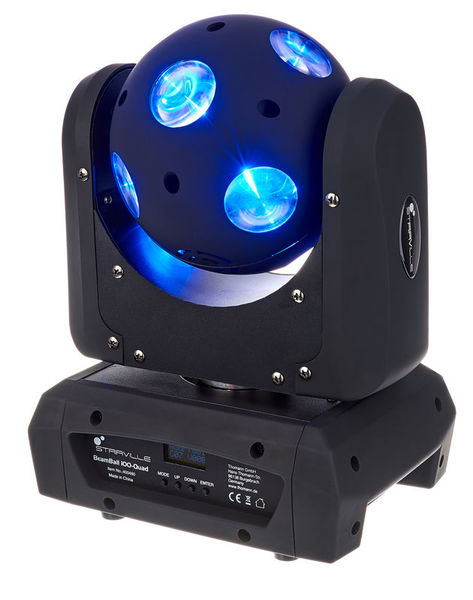 Beam Ball 100 Quad LED 10x10W Stairville