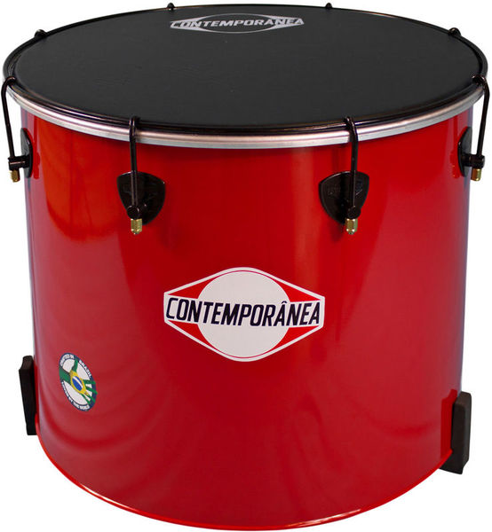 "Contemporanea 18""x 40cm Nesting Surdo Red"