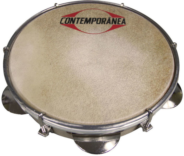 "Contemporanea 10"" Pandeiro Wood Real Skin"