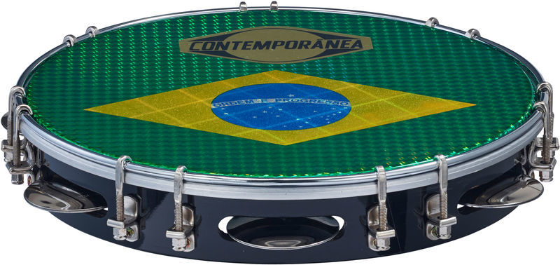 "Contemporanea 10"" Pandeiro Luxe black"