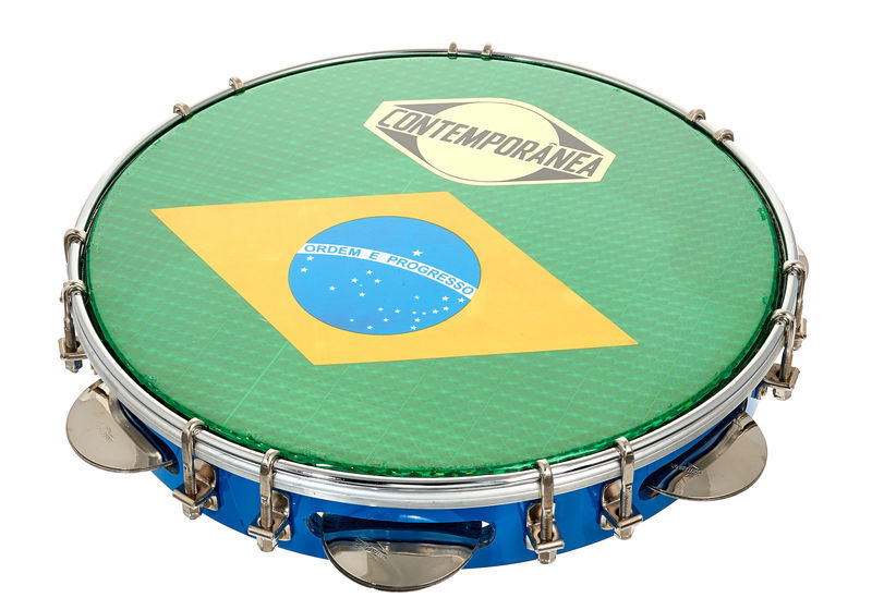 "Contemporanea 10"" Pandeiro Luxe blue"