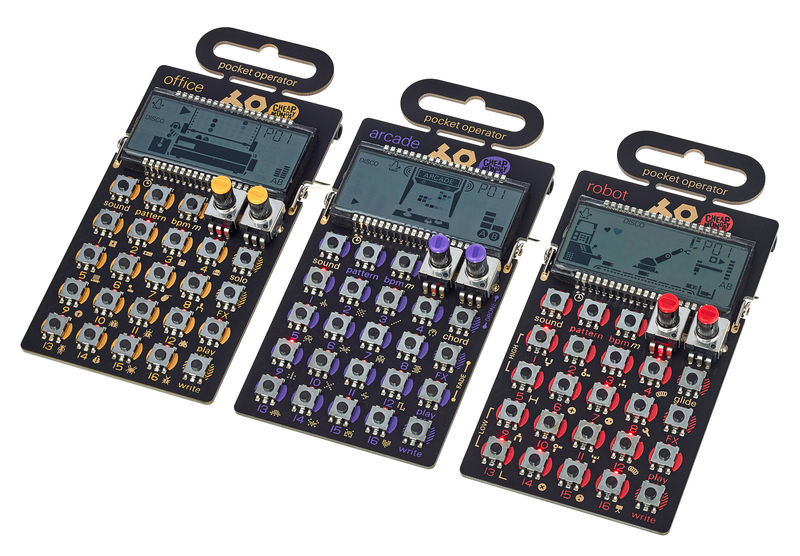 Teenage Engineering PO-20 Triple Pack