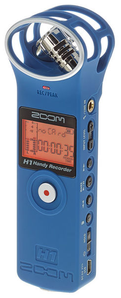 Zoom H1 Blue Limited Edition