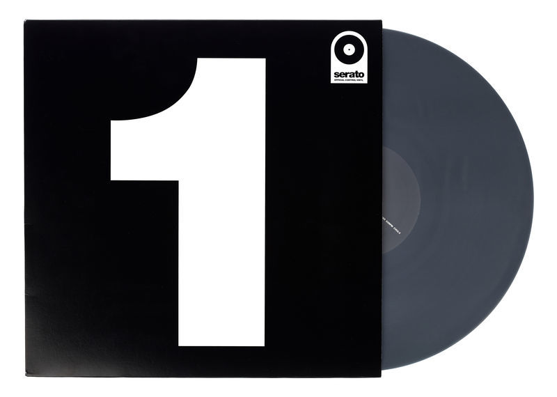 "Serato 12"" Single Control Vinyl-Black"