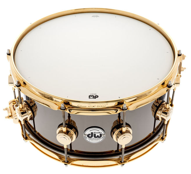 "DW 14""x6,5"" Black Nickel o. Brass"