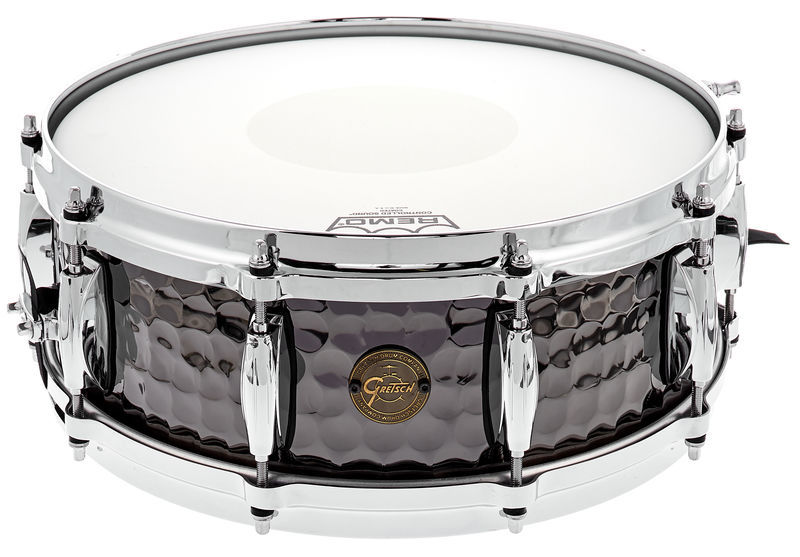 "Gretsch 14""x5"" Black Hammered Snare"