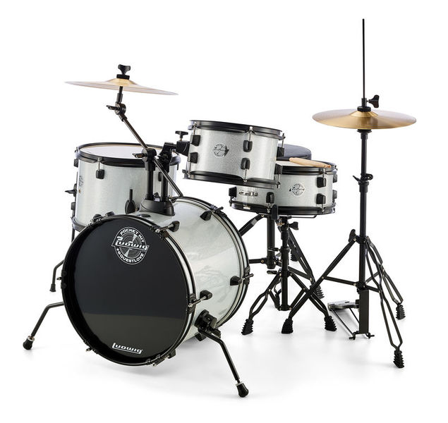 Ludwig Pocket Kit - Silver Sparkle