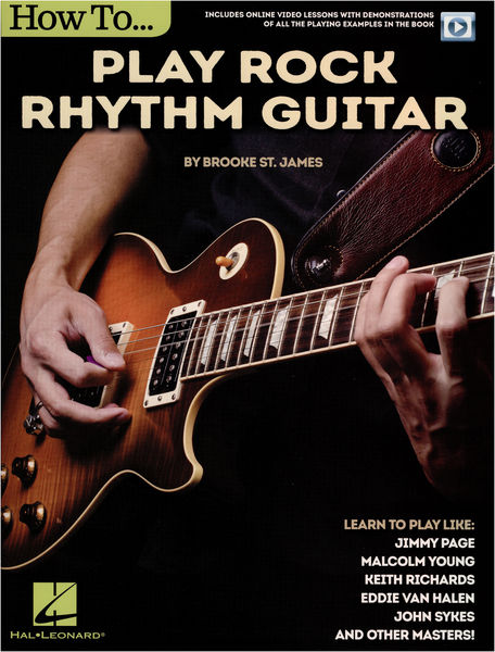 Hal Leonard How To Play Rock Rhythm Guitar