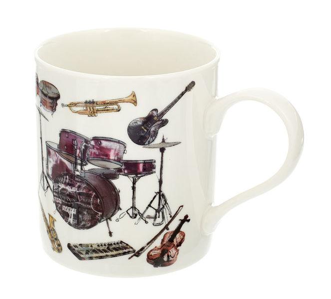 Anka Verlag Mug with several Instrument